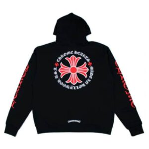 Chrome Hearts Made In Hollywood Plus Cross Zip Up Hoodie